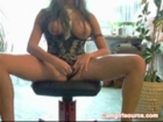 Hooters chick webcam video