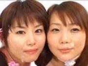 Cum on these japanese girls