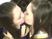 Real Lesbian Twin Cheerleaders