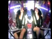 Girls Orgasm on SlingShot rides compilation