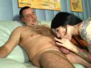 Sneaky Inky Cum In Mouth BJ CIM