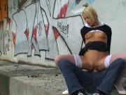 teen slut under the highway fuck
