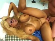 Juicy hot momma Pamela Peaks getting rammed hard by her man's meaty sausage