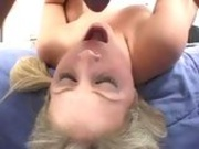 Lacie Heart Throat Fucked And Slamming Tight Cunt On Big Dick