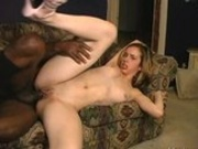 Blonde juicy Kelly Wells having her tight snatch banged hard by a blackzilla