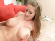 Slutty Abby Rode gets her soaking wet hole shagged hard and deep by giant cock