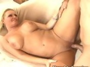 Tittilating milf Maya Divine gets her pussy thumped by a rock hard cock