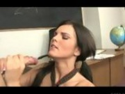 Mackenzee Priece Savors The Taste Of Her Teachers Big Juicy Wang