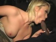 Pink titted honey Brittany Angel takes a monstrous black meat entering her mouth