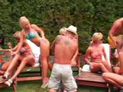 Sluts Love The BBQ Gangbang