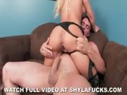 Shyla Stylez Anal Fuck and a Facial