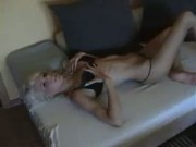 Amateur Blonde Showing Off Tight Body
