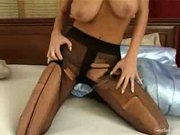 Holes in her stockings