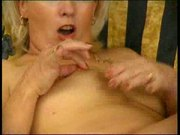 Blonde Milf Plays With Dildo