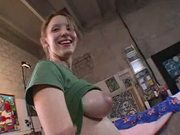 Pretty Tramp Receives A Powerful Cumshot