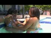 Nikki Boss, Taylor Layne & Christina Copafeel In The Jacuzzi