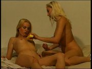 Tight Blondes Go Muff Diving