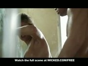 PORNSTAR TEACHES BASIC SEX POSITIONS IN SHOWER