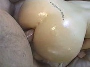 Anal fucking an oily booty