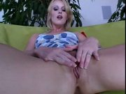 Sharon Wild Shoves It Deep In Her Ass