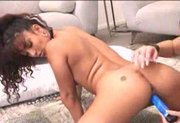 Amateur Lesbians Inserting Dildo