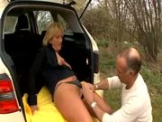 Taxi Driver Fucks Her Client!