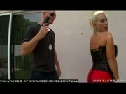 Hot Big Titted Blonde MILF Holly Halston is drilled by snooping detective