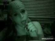 Hot night cam blowjob