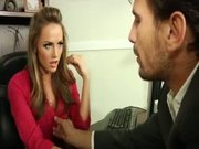 Tori Black In The Office