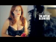 Red-head stunning blowjob