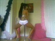 She must be a real stripper