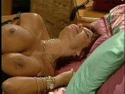 Dirty Slut Gets Cum All Over Her Huge Boobs