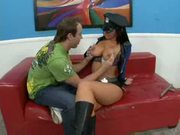 Jayden Jaymes Takes A Dicking Like A Good Girl