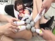 Maiko Yamazaki bound & creampie'd