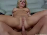 Alicia Rhodes: Blondie anal destruction