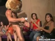 Girls Get Drunk at a Strip Club and Suck Random Stripper Cock