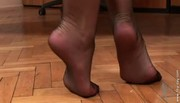 Aria Giovanni Strips Out of Stockings P3