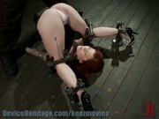 Misti Dawn put in a pile driver, takes the cane, then a sybian