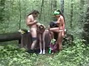 Banging Some Sluts In the Woods