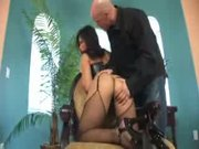 Christina Aguchi bound asian cock slave