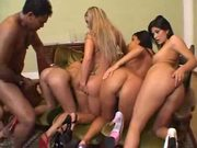 5 girls 1 guy, cannot get any better