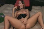 Kinky blonde squirts hard!