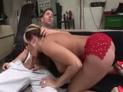 Her Car Breaks Down, Ass Takes A Pound