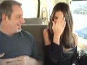 Latina Chick Banging In Van