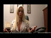 Big Titted blond MILF Diamond Foxxx fucks to save her company