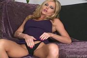 Amber Michaels Loving Her Pink Dildo