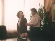 Vintage Office Sex Scene
