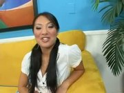 Asa Akira's Mouth Fits Just Right