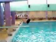 Fat Man Diving