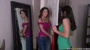Big tit teen brunette deepthorats her sisters boyfriends big cock